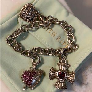 Judith Ripka sterling silver bracelet